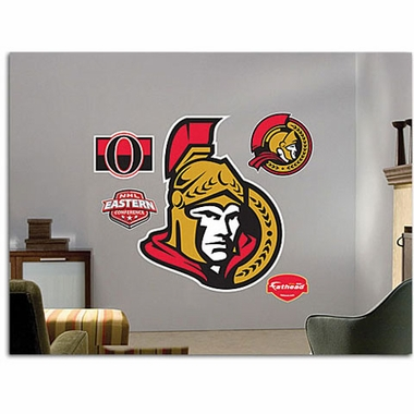 Ottawa Senators Logo Fathead Wall Graphic