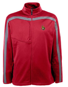 Ottawa Senators Mens Viper Full Zip Performance Jacket (Team Color: Red) - Medium