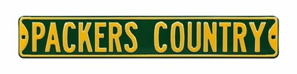 Packers Country Street Sign