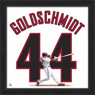 "Paul Goldschmidt, Dbacks UNIFRAME 20"" x 20"""