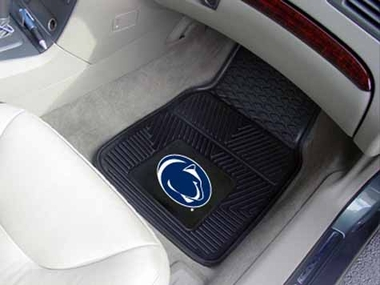 Penn State 2 Piece Heavy Duty Vinyl Car Mats