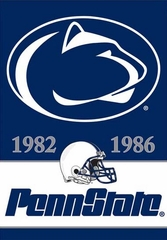 Penn State 2 Sided Championship Banner (P)