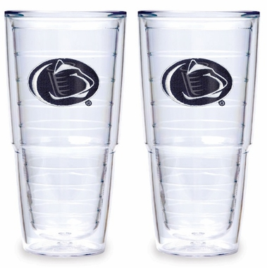 "Penn State 24 oz. Set of TWO ""Big T"" Tervis Tumblers"