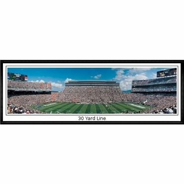 Penn State 30 Yard Line Framed Panoramic Print