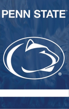 Penn State Applique Banner Flag