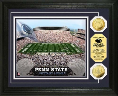 Penn State Nittany Lions Penn State Stadium Gold Coin Photo Mint