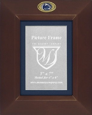 Penn State BROWN Portrait Picture Frame