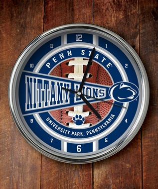 Penn State Chrome Clock