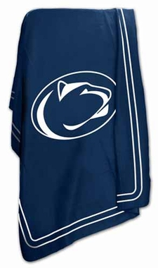 Penn State Classic Fleece Throw Blanket