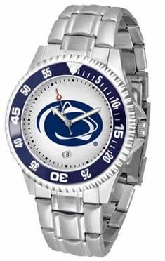 Penn State Competitor Men's Steel Band Watch