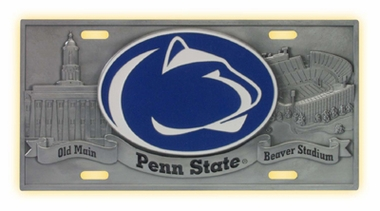 Penn State Deluxe Collector's License Plate