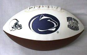 Penn State Embroidered Foto Football