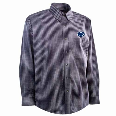 Penn State Mens Esteem Button Down Dress Shirt (Team Color: Navy)