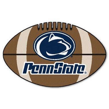 Penn State Football Shaped Rug