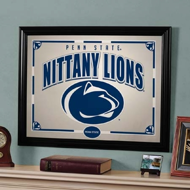 Penn State Framed Mirror