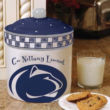 Penn State Gameday Ceramic Cookie Jar