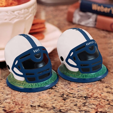 Penn State Helmet Ceramic Salt and Pepper Shakers
