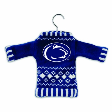 Penn State Knit Sweater Ornament (Set of 3)