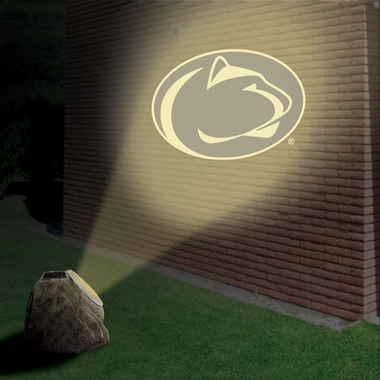 Penn State Logo Projection Rock
