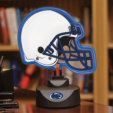 Penn State Neon Display Helmet