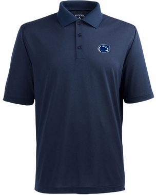 Penn State Mens Pique Xtra Lite Polo Shirt (Color: Navy)