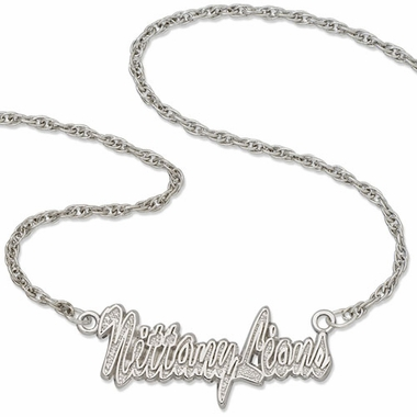 Penn State Script Necklace