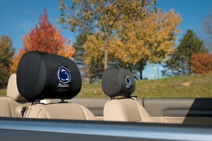 Penn State Set of 2 Headrest Covers