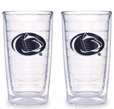 Penn State Set of TWO 16 oz. Tervis Tumblers
