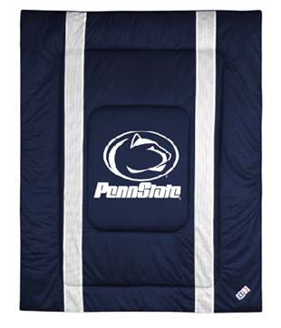 Penn State SIDELINES Jersey Material Comforter