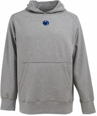 Penn State Mens Signature Hooded Sweatshirt (Color: Gray)