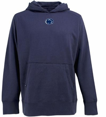 Penn State Mens Signature Hooded Sweatshirt (Team Color: Navy)