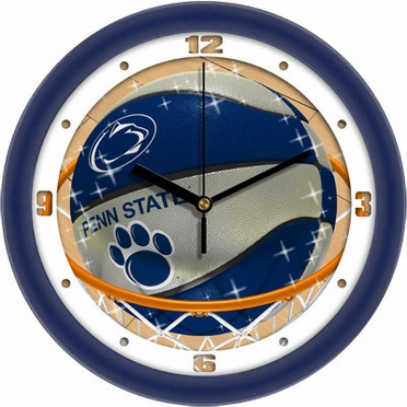 Penn State Slam Dunk Wall Clock