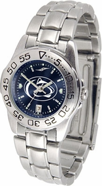Penn State Sport Anonized Women's Steel Band Watch