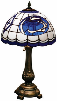 Penn State Stained Glass Table Lamp