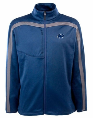 Penn State Mens Viper Full Zip Performance Jacket (Team Color: Navy)