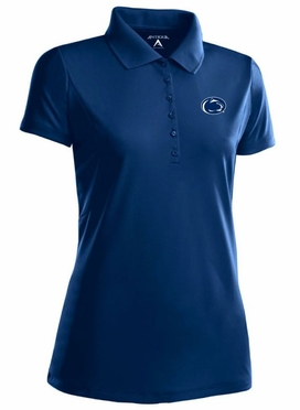 Penn State Womens Pique Xtra Lite Polo Shirt (Team Color: Navy)
