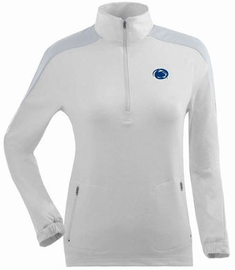 Penn State Womens Succeed 1/4 Zip Performance Pullover (Color: White)