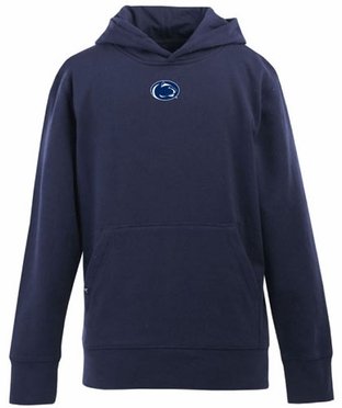 Penn State YOUTH Boys Signature Hooded Sweatshirt (Team Color: Navy)