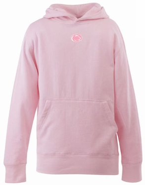 Penn State YOUTH Girls Signature Hooded Sweatshirt (Color: Pink)