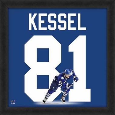 "Phil Kessel, Maple Leafs UNIFRAME 20"" x 20"""