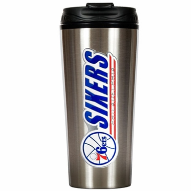 Philadelphia 76ers 16 oz. Thermo Travel Tumbler