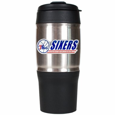 Philadelphia 76ers 18oz Oversized Travel Tumbler