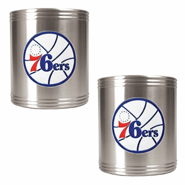 Philadelphia 76ers 2 Can Holder Set