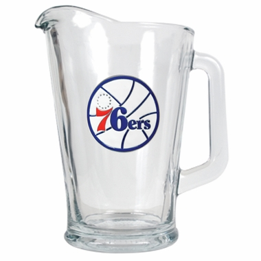 Philadelphia 76ers 60 oz Glass Pitcher