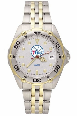 Philadelphia 76ers All Star Mens (Steel Band) Watch