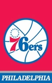 Philadelphia 76ers Flags & Outdoors