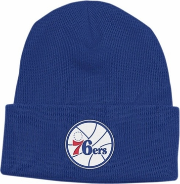 Philadelphia 76ers Basic Logo Cuffed Knit Hat