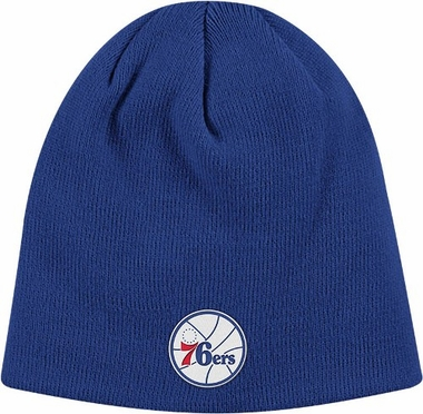 Philadelphia 76ers Basic Logo Cuffless Knit Hat
