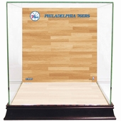 Philadelphia 76ers Display Cases