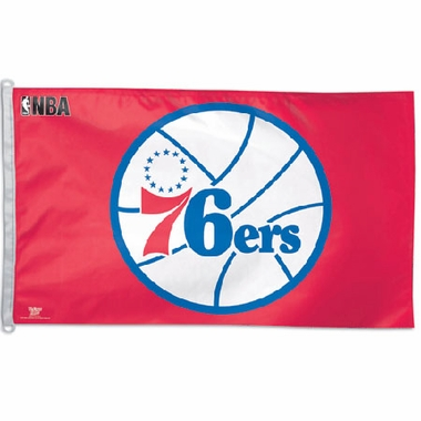 Philadelphia 76ers Big 3x5 Flag